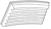 6PK0745 FLENNOR Поликлиновой ремень
