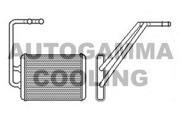 104875 AUTOGAMMA Теплообменник, отопление салона
