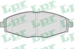 05P693 LPR Комплект тормозных колодок, дисковый тормоз