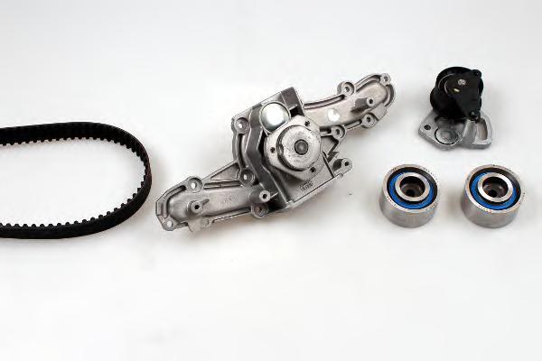 Водяной насос + комплект зубчатого ремня HEPU PK10290