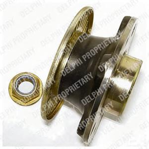 BK831 DELPHI Комплект подшипника ступицы колеса