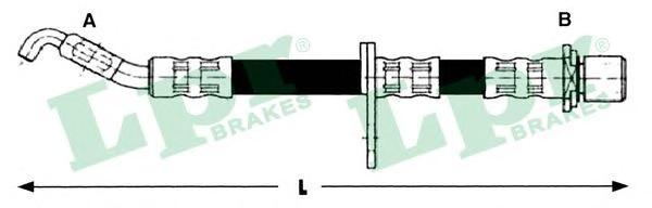 Тормозной шланг LPR/AP 6T48278