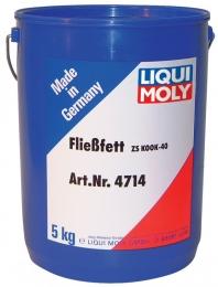 """Жидкая консистентная смазка для центральных систем """"Fliessfett ZS KOOK-40"""", 5л LIQUI MOLY 4714"""