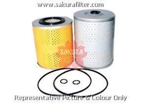 O1012 SAKURA Фильтр масляный элемент комплект