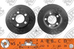 Тормозной диск NIBK RN1084