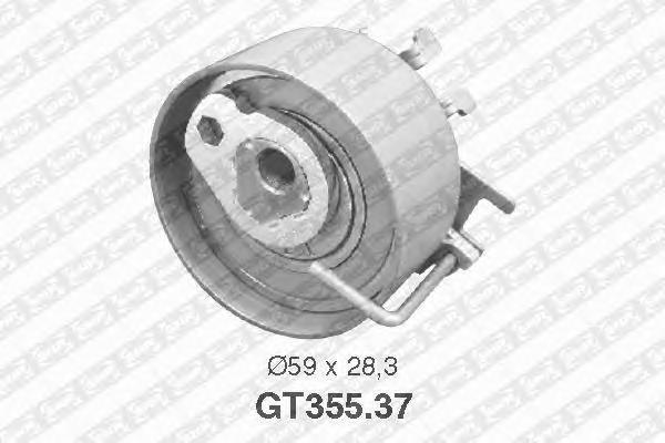 GT35537 NTN-SNR Натяжной ролик, ремень ГРМ