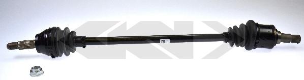 23354 GKN-SPIDAN Приводной вал