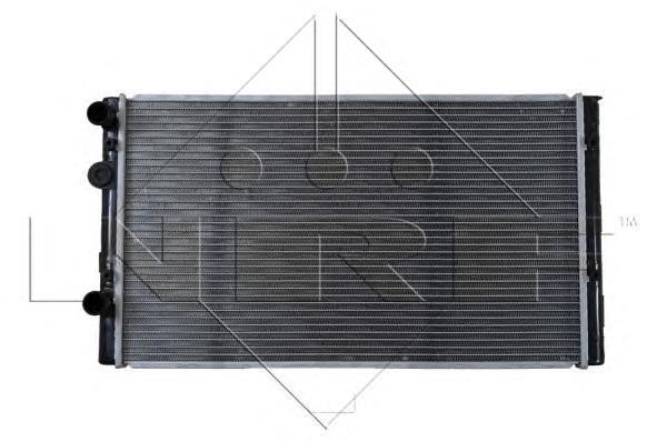 50457 NRF Радиатор, охлаждение двигателя