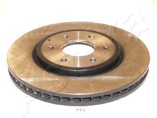 6001115 ASHIKA Тормозной диск