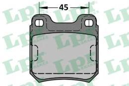 Комплект тормозных колодок, дисковый тормоз LPR/AP 05P334