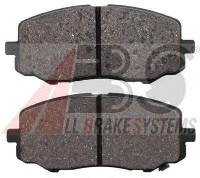 37763 ABS Комплект тормозных колодок, дисковый тормоз
