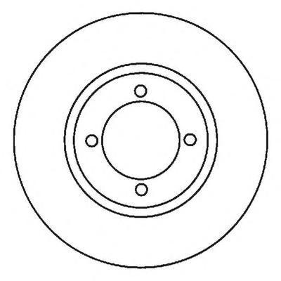 561986J JURID Тормозной диск