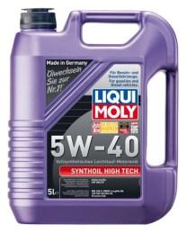 1307 LIQUI MOLY Масло моторное синтетика 5W-40 5 л.