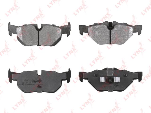 BD1440 LYNX Колодки тормозные задние