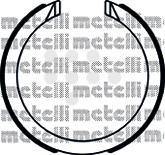 530491 METELLI Комплект тормозных колодок