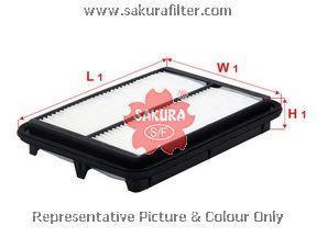 Воздушный фильтр SAKURA A1880