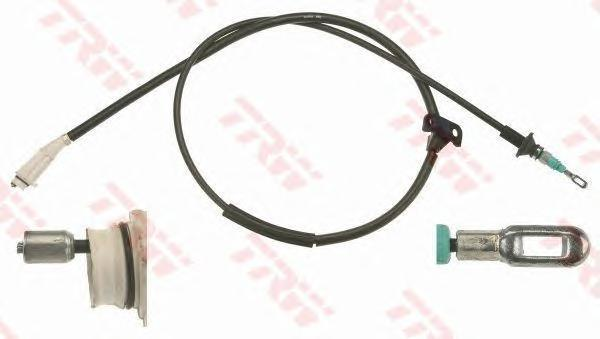 GCH276 TRW/LUCAS Трос, стояночная тормозная система