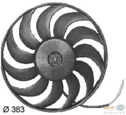 8EW351034781 BEHR-HELLA Вентилятор, охлаждение двигателя