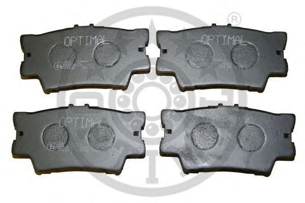 12311 OPTIMAL Комплект тормозных колодок, дисковый тормоз