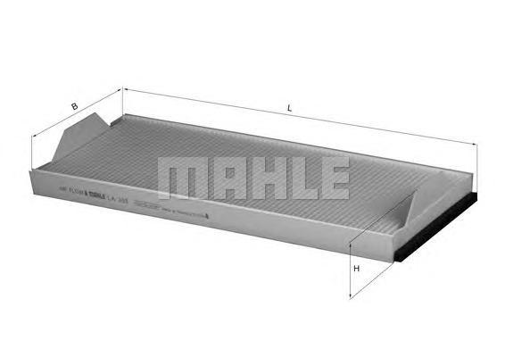 LA358 MAHLE Фильтр, воздух во внутренном пространстве