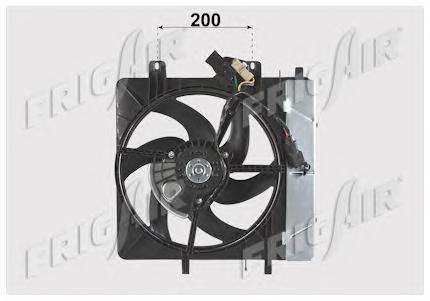 05032006 FRIG AIR Вентилятор, охлаждение двигателя