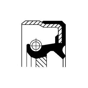 12017218B CORTECO Уплотняющее кольцо вала, топливный насос высокого давления