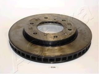 6005534 ASHIKA Тормозной диск