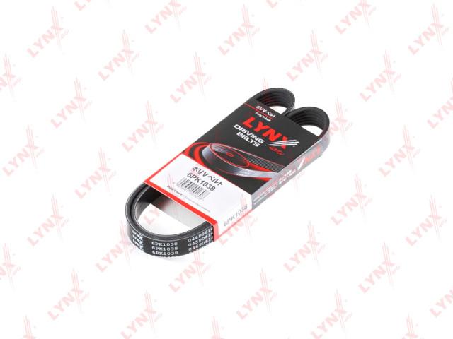 6PK1038 LYNX Ремень поликлиновой