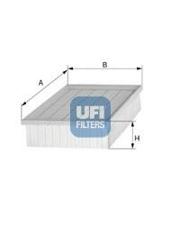 3000100 UFI Воздушный фильтр