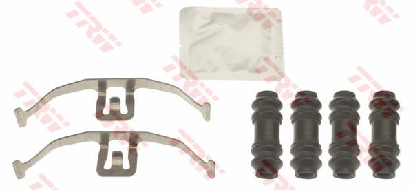 PFK677 TRW/LUCAS Комплектующие, колодки дискового тормоза