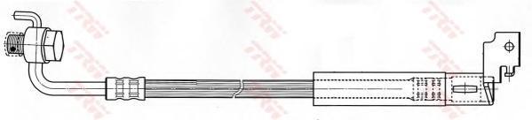 PHD495 TRW Тормозной шланг
