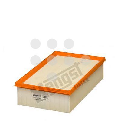E1090L HENGST Фильтр воздушный VAG GOLF 7PASSATTIGUANOCTAVIAKODIAQA3TT 12-17- 1.8TSI2.0TSI1.6TDI2.0TDI