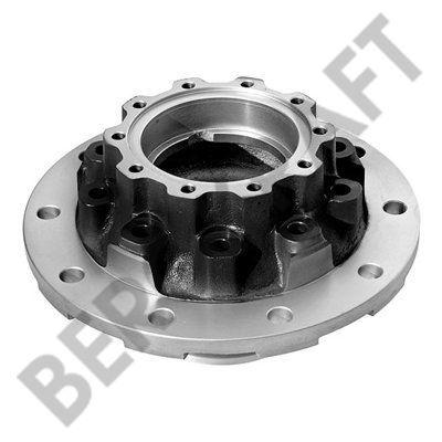 Ступица колеса задний мост с ABS (дисковый тормоз) SCANIA P/G/R/T/4-SERIES AD/ADA1300,AD1100,ASA1000 BERGKRAFT BK6100403