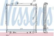 647551 NISSENS Радиатор охлаждения двигателя