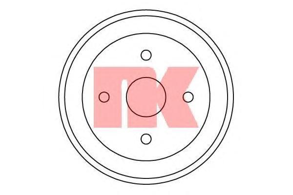 255209 NK Тормозной барабан
