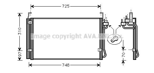 HY5071D AVA Конденсатор, кондиционер