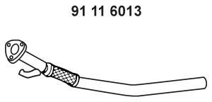 Труба выхлопного газа EBERSPACHER 91116013