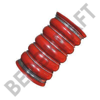 Шланг наддувочного воздуха D=80mm/L=140mm (красный) VOLVO FH12 (G 1) BERGKRAFT BK8708006
