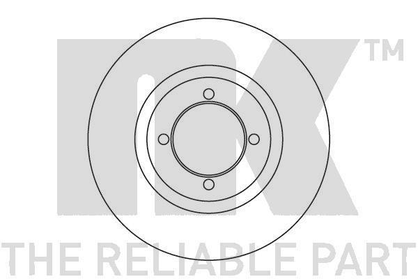 203615 NK Тормозной диск