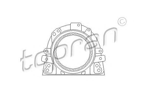 101410 HANS PRIES Уплотняющее кольцо, коленчатый вал
