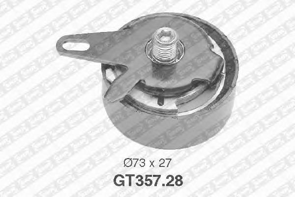 GT35728 NTN-SNR Натяжной ролик, ремень ГРМ