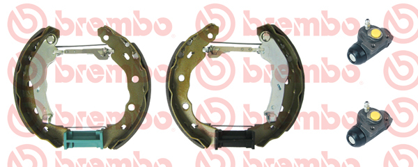 K54011 BREMBO Комплект тормозных колодок