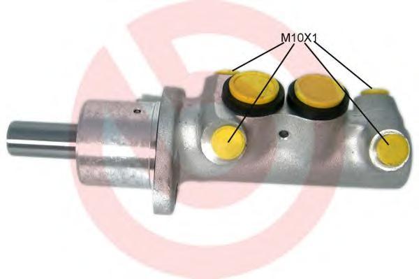 M85034 BREMBO Главный тормозной цилиндр