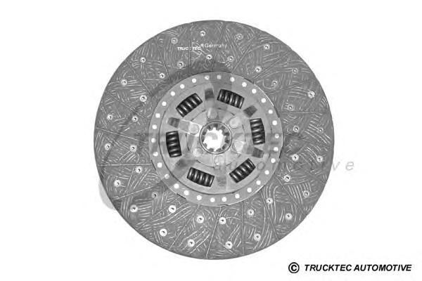 0123138 TRUCKTEC Диск сцепления