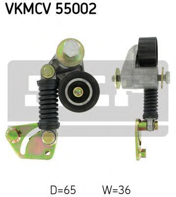 VKMCV55002 SKF Натяжной ролик, поликлиновой  ремень