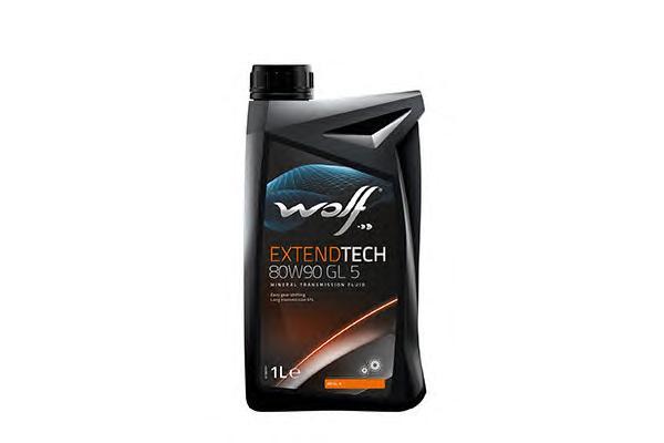 Трансмиссионное масло минеральное WOLF 80W90 GL 5, 1л WOLF 8304309