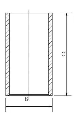 Гильза цилиндра GOETZE 1401017000