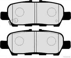 Колодки тормозные, комплект, задние SUZUKI 5580077K00