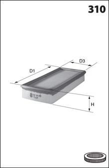 Воздушный фильтр MECAFILTER ELP3178