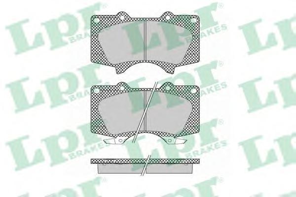 05P1379 LPR Комплект тормозных